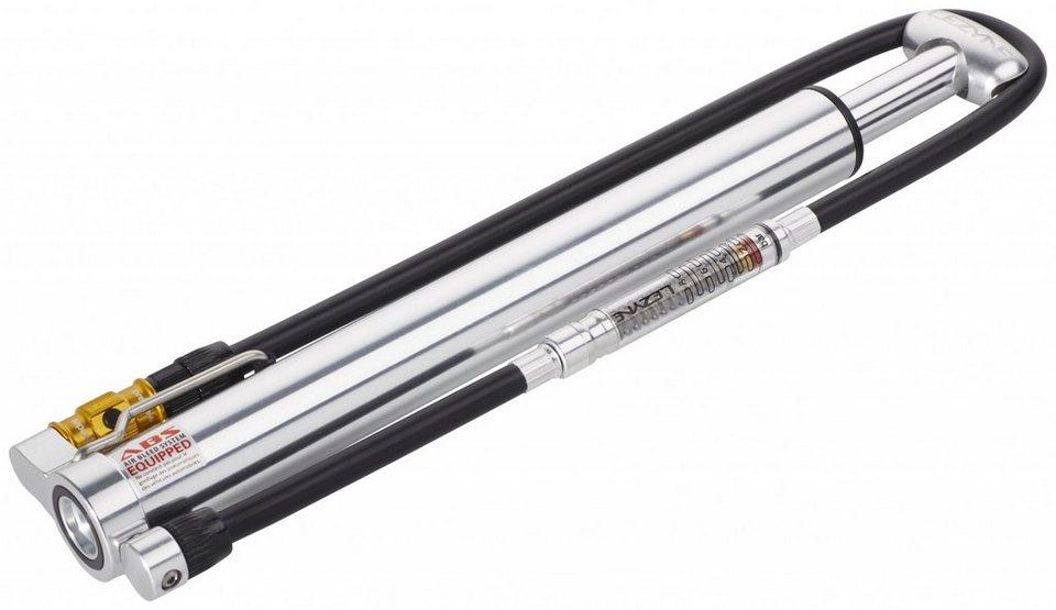 Lezyne Fahrradpumpe »Micro Floor Drive HVG mit Luftdruckmesser silber«