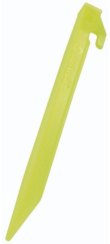 Outwell Zeltzubehör »Guyline Peg Plastic 6 pcs.« in gelb