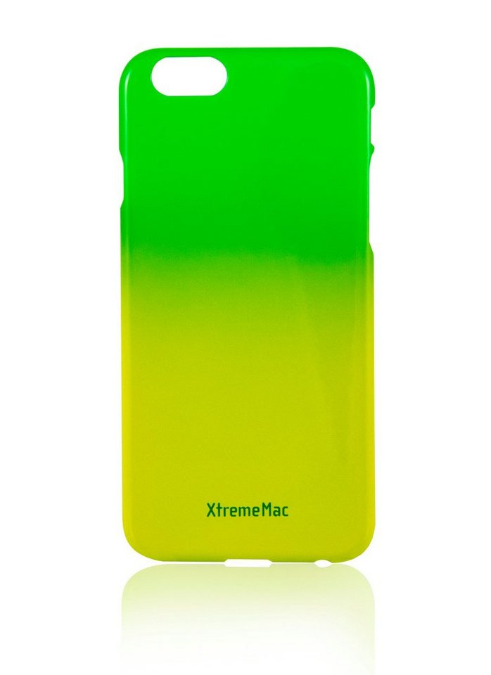 XtremeMac Schutzhülle für iPhone 6/6S »Microshield Fade« in green & yellow