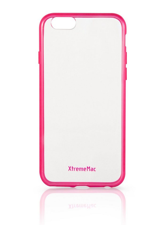 XtremeMac Schutzhülle für iPhone 6+/6S+ »Microshield Accent« in pink & transparent
