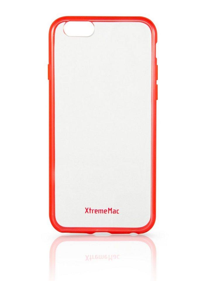 XtremeMac Schutzhülle für iPhone 6+/6S+ »Microshield Accent« in red