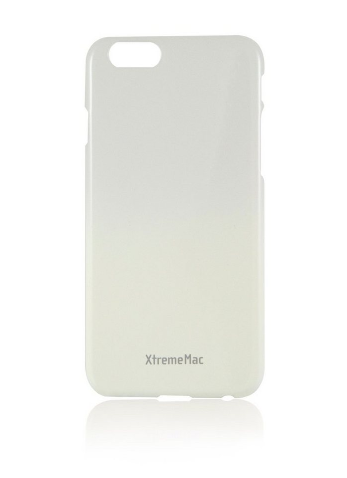 XtremeMac Schutzhülle für iPhone 6+/6S+ »Microshield Fade« in white & grey