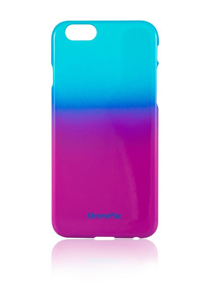 XtremeMac Schutzhülle für iPhone 6/6S »Microshield Fade« in blue & lila