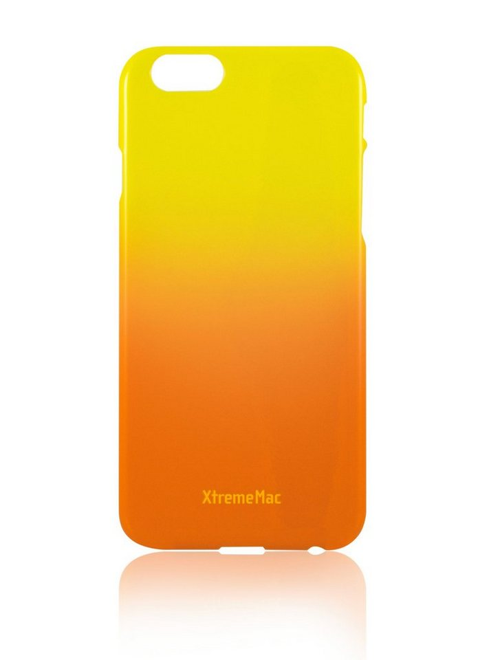 XtremeMac Schutzhülle für iPhone 6/6S »Microshield Fade« in orange & yellow