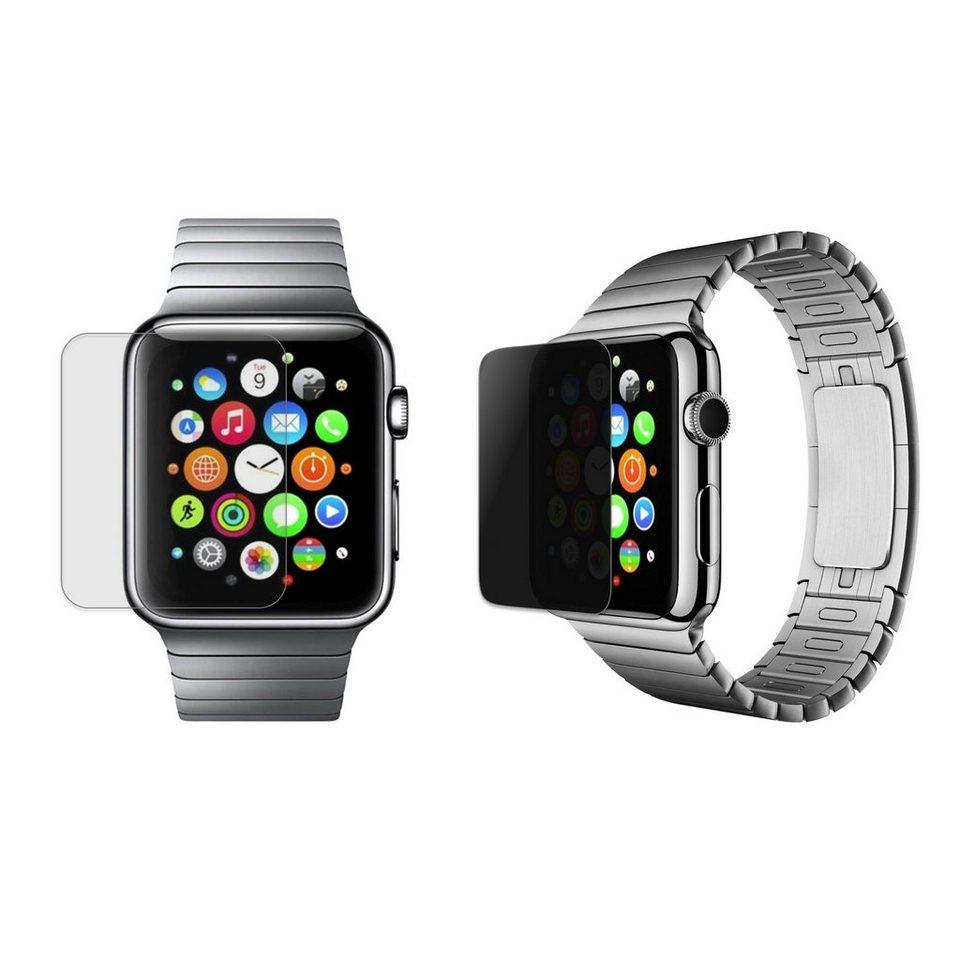 XtremeMac 42 mm Privatsphärenglas für Apple Watch »Tuffshield« in transparent