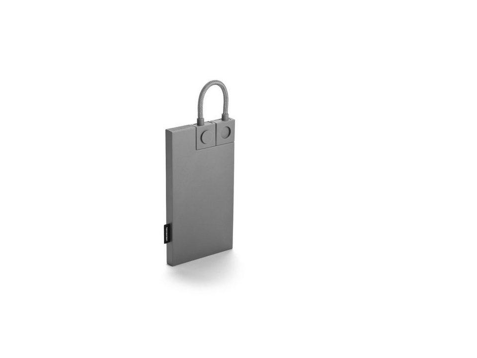 Urbanears Powerbank 2000mAh »The Pliable« in grey