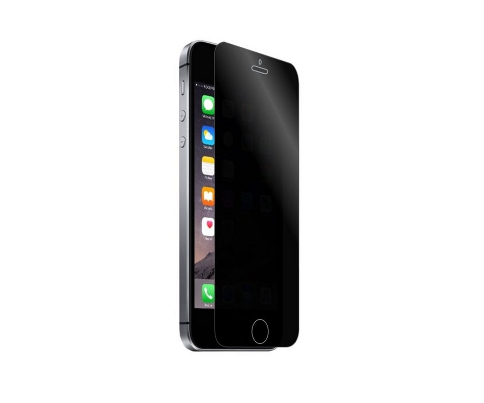 XtremeMac Privatsphärenglas für iPhone SE/5/5S »Tuffshield« in transparent