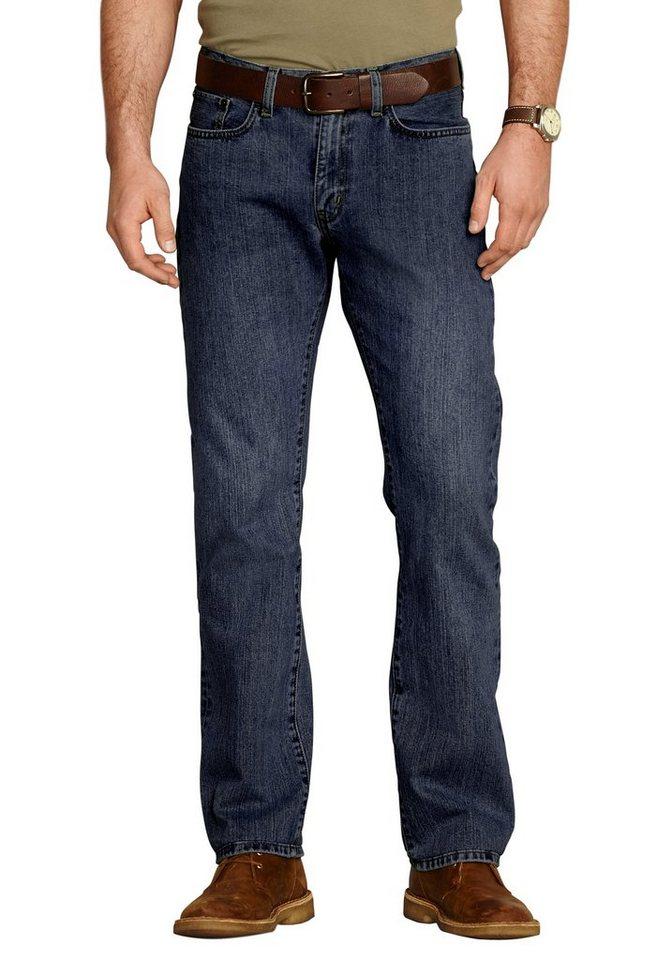 Eddie Bauer Straight Fit Jeans in Dusted Indigo