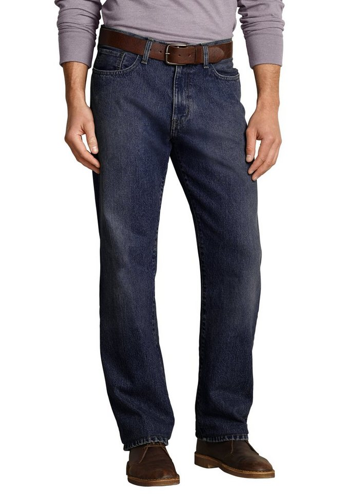 Eddie Bauer Relaxed Fit Jeans in Dusted Indigo