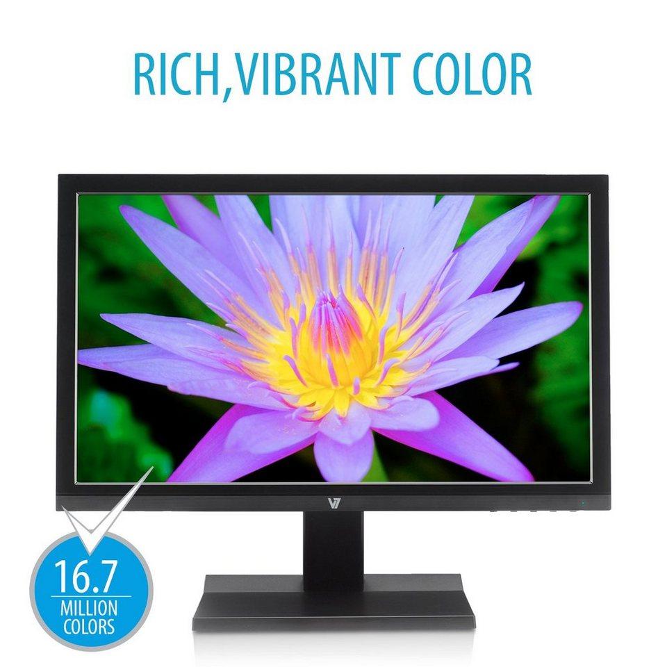 V7 Desktop Display »+ LED 47CM 18.5IN WS 1366X768«