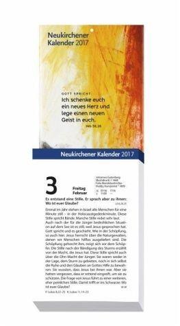 Kalender »Neukirchener Kalender 2017 - Abreißkalender in...«