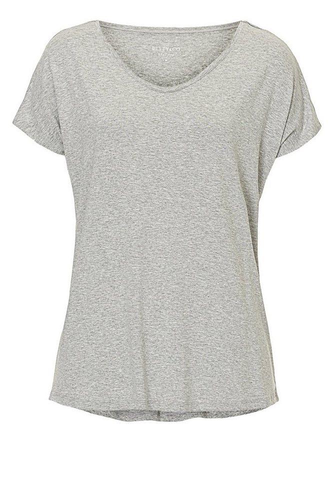 Betty&Co Shirt in Light Silver Melange