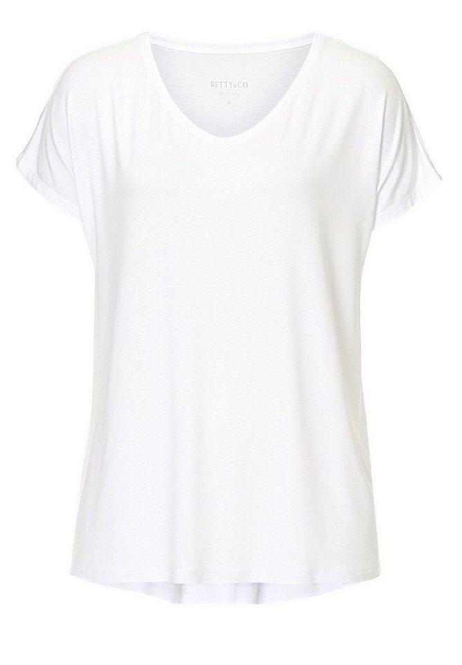 Betty&Co Shirt in Weiß - Weiß
