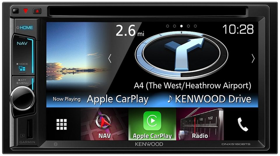 Kenwood Navigation 2-DIN Garmin »DNX5160BTS« in schwarz