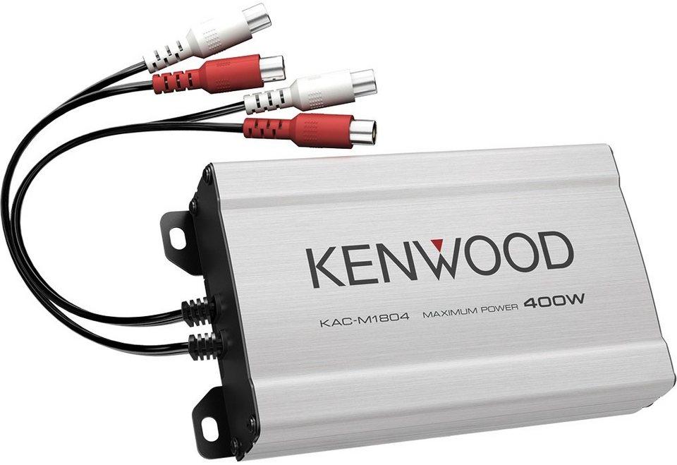 Kenwood Endstufe Mono-/Stereo »KAC-M1804« in grau