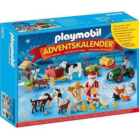 Playmobil® Adventskalender Weihnacht auf dem Bauernhof (6624), »Christmas«