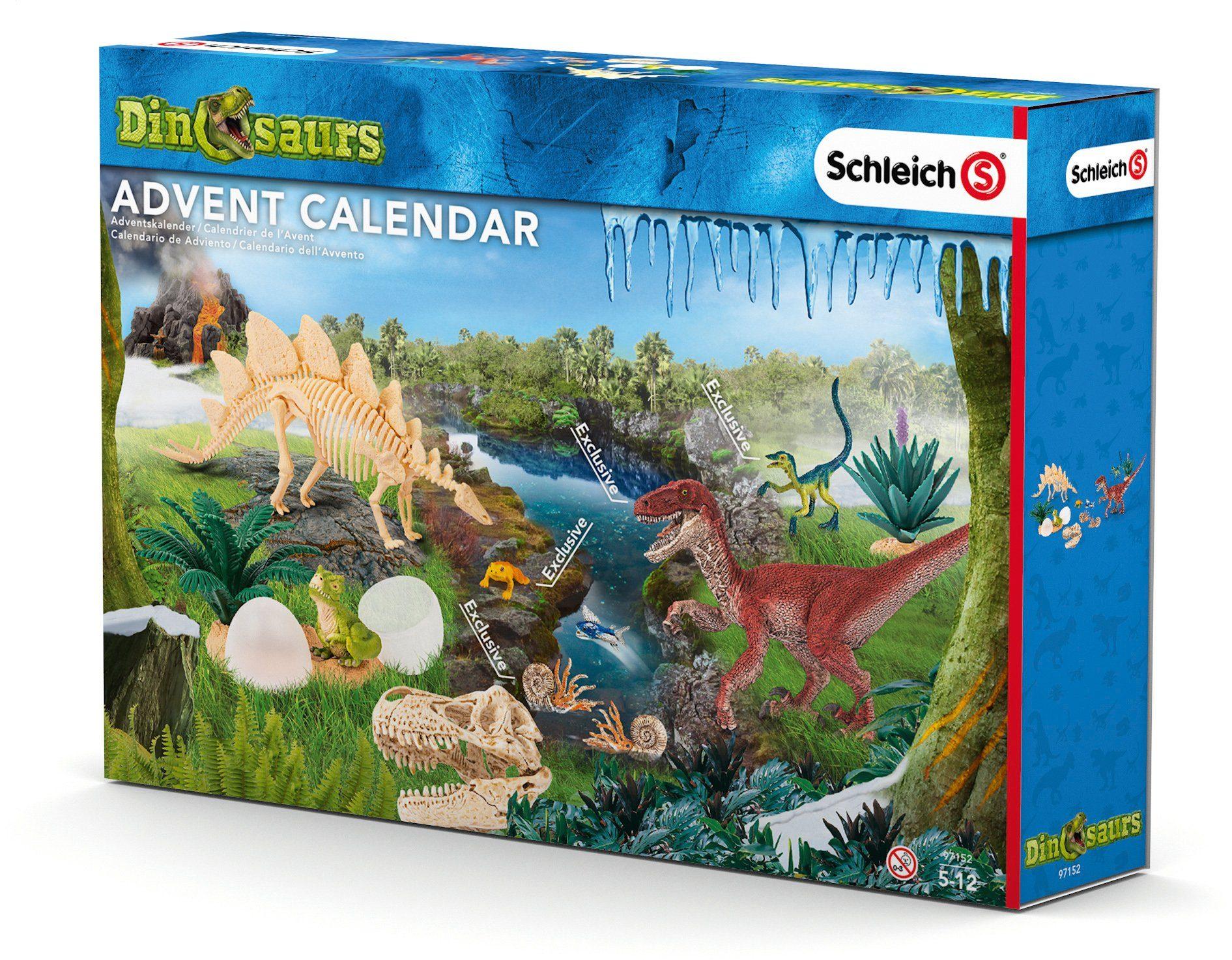 Schleich® Adventskalender (97152), »Dinosaurier 2016«