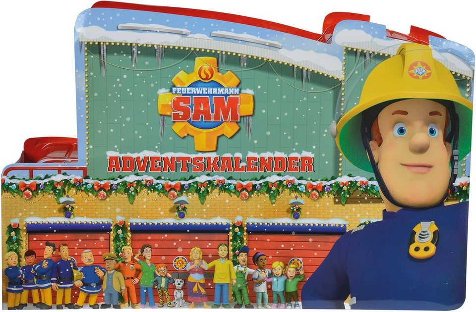 Simba Feuerwehr Spielset, »Feuerwehrmann Sam, Adventskalender«
