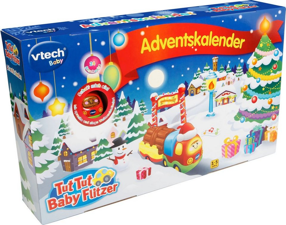 vtech adventskalender tut tut baby flitzer otto. Black Bedroom Furniture Sets. Home Design Ideas