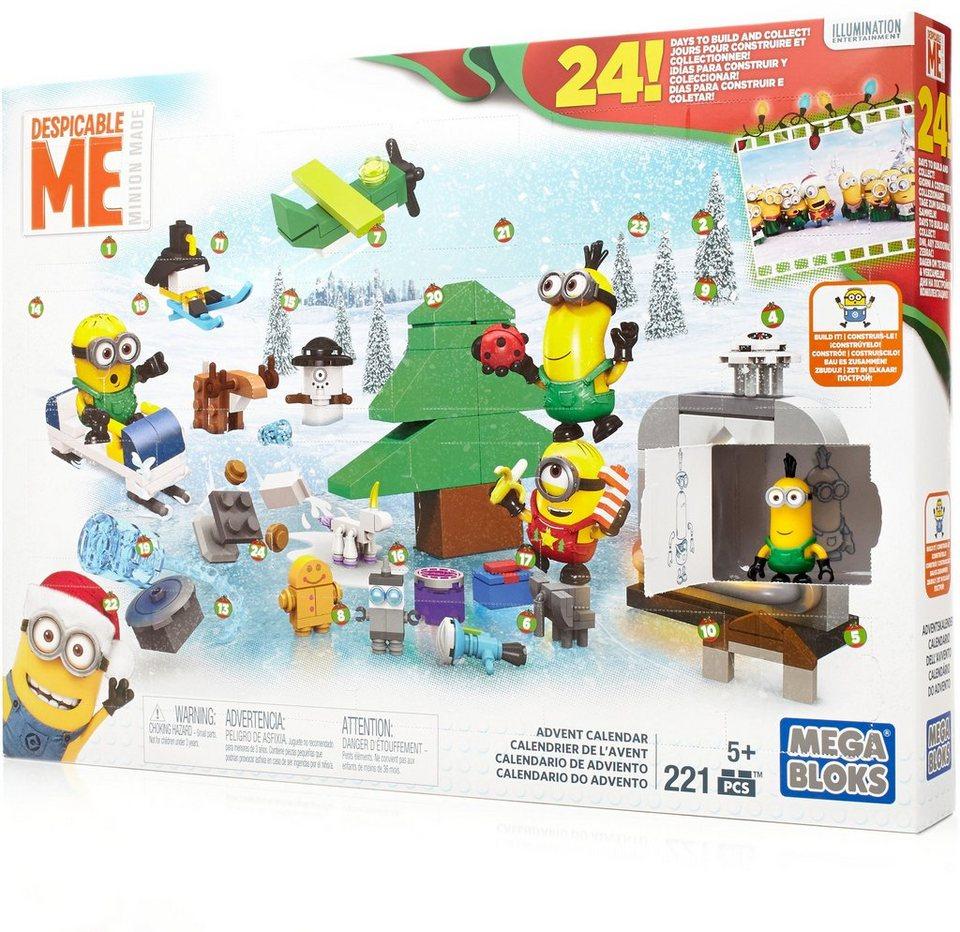 Mattel Adventskalender , »Mega Bloks Minions Ich - einfach unverbesserlich«