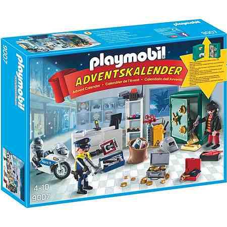 Playmobil® Adventskalender Polizeieinsatz im Juweliergeschäft (9007), »Christmas«