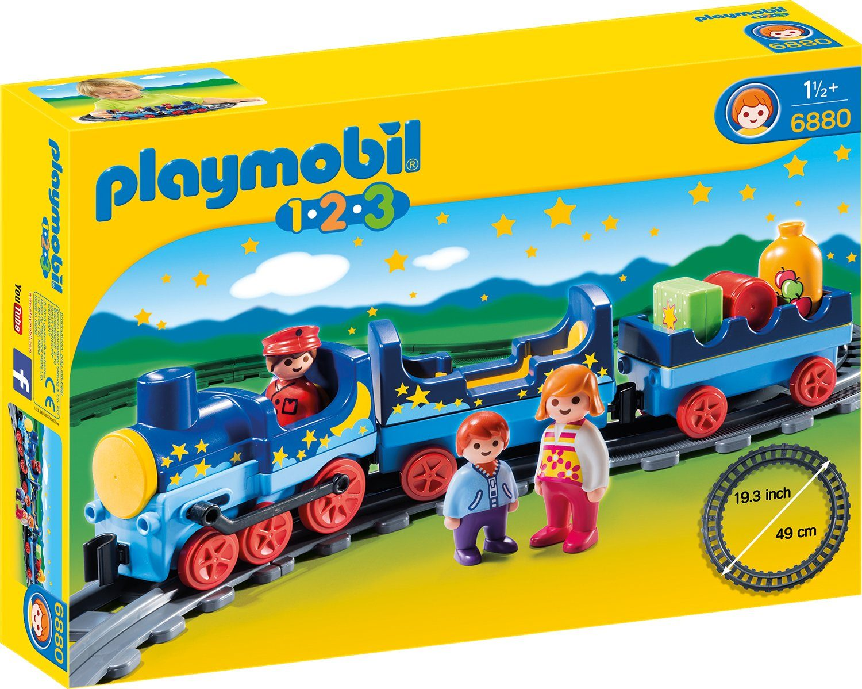 Playmobil® Sternchenbahn mit Schienenkreis (6880), »Playmobil 1-2-3«
