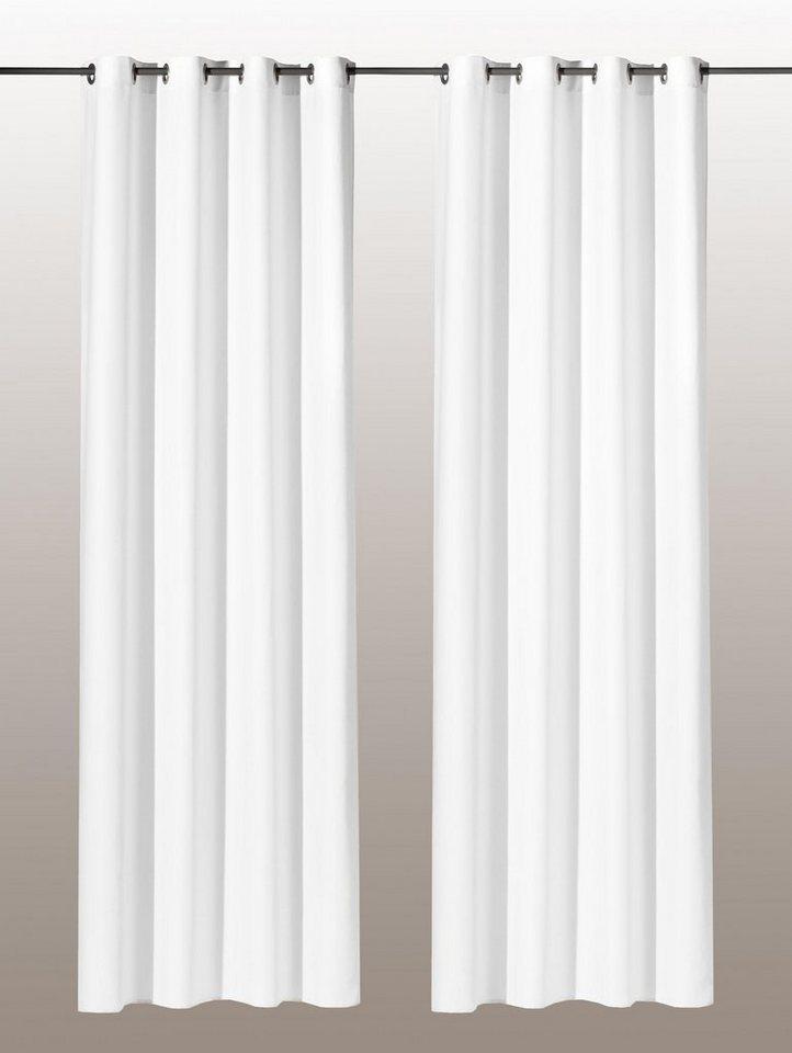 vorhang weckbrodt gardinen vito mit sen 1 st ck. Black Bedroom Furniture Sets. Home Design Ideas