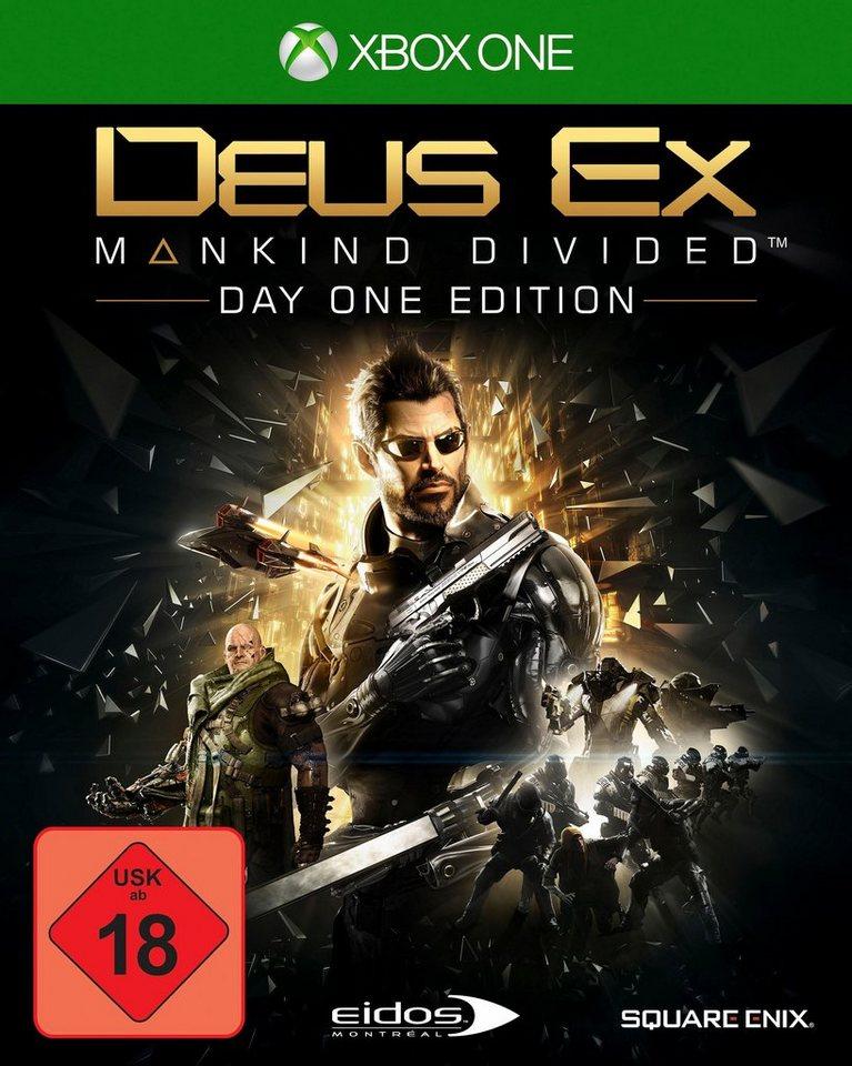 Deus Ex: Mankind Divided Day One Edition Xbox