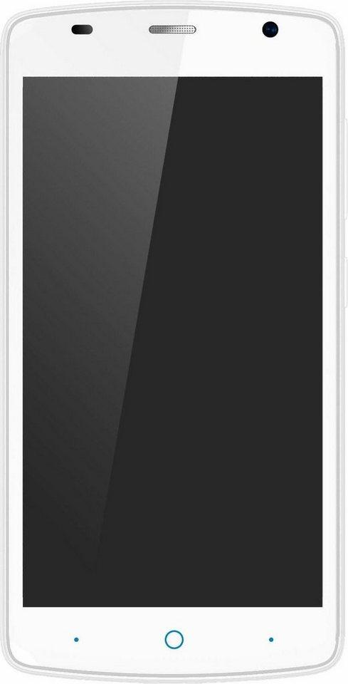 ZTE Blade L5 Smartphone, 12,7 cm (5 Zoll) Display, Android 5.1 Lollipop, 8,0 Megapixel in weiß