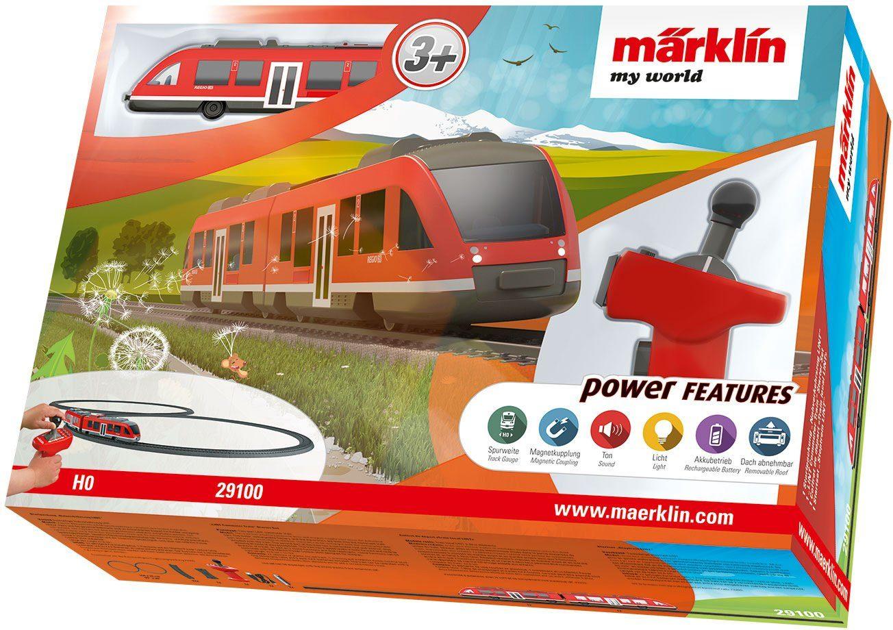 Märklin Spielzeugeisenbahn Startpackung, »Märklin my world - Nahverkehrszug LINT - 29100«