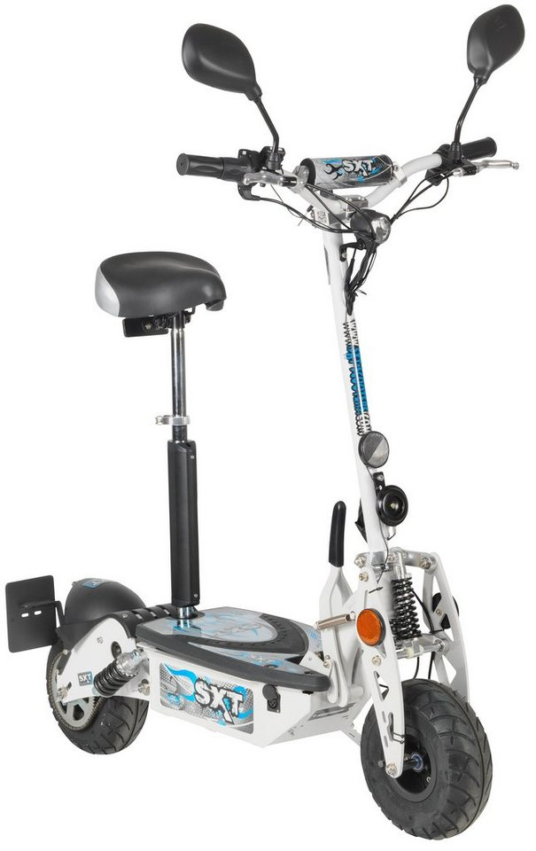 E-Scooter »SXT500 EEC«, 500 Watt, 25 km/h in weiß