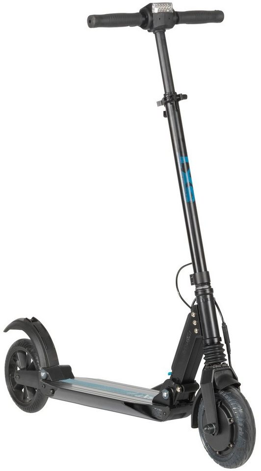 E-Scooter »SXT light Eco«, 350 Watt, 27 km/h in schwarz