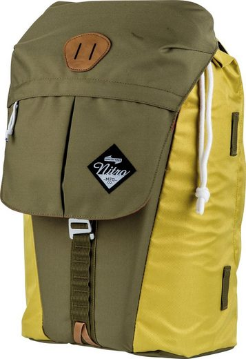 NITRO Laptoprucksack »Cypress Golden Mud«