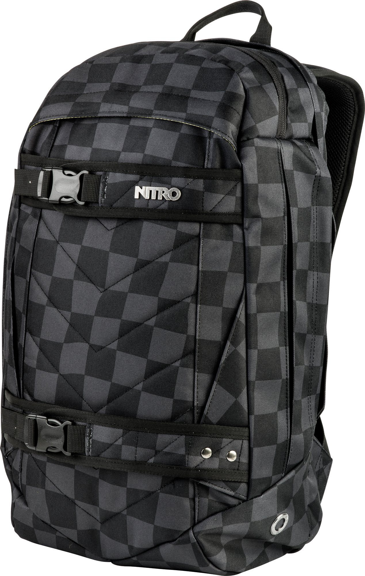 Nitro Rucksack, »Aerial Black Checker«