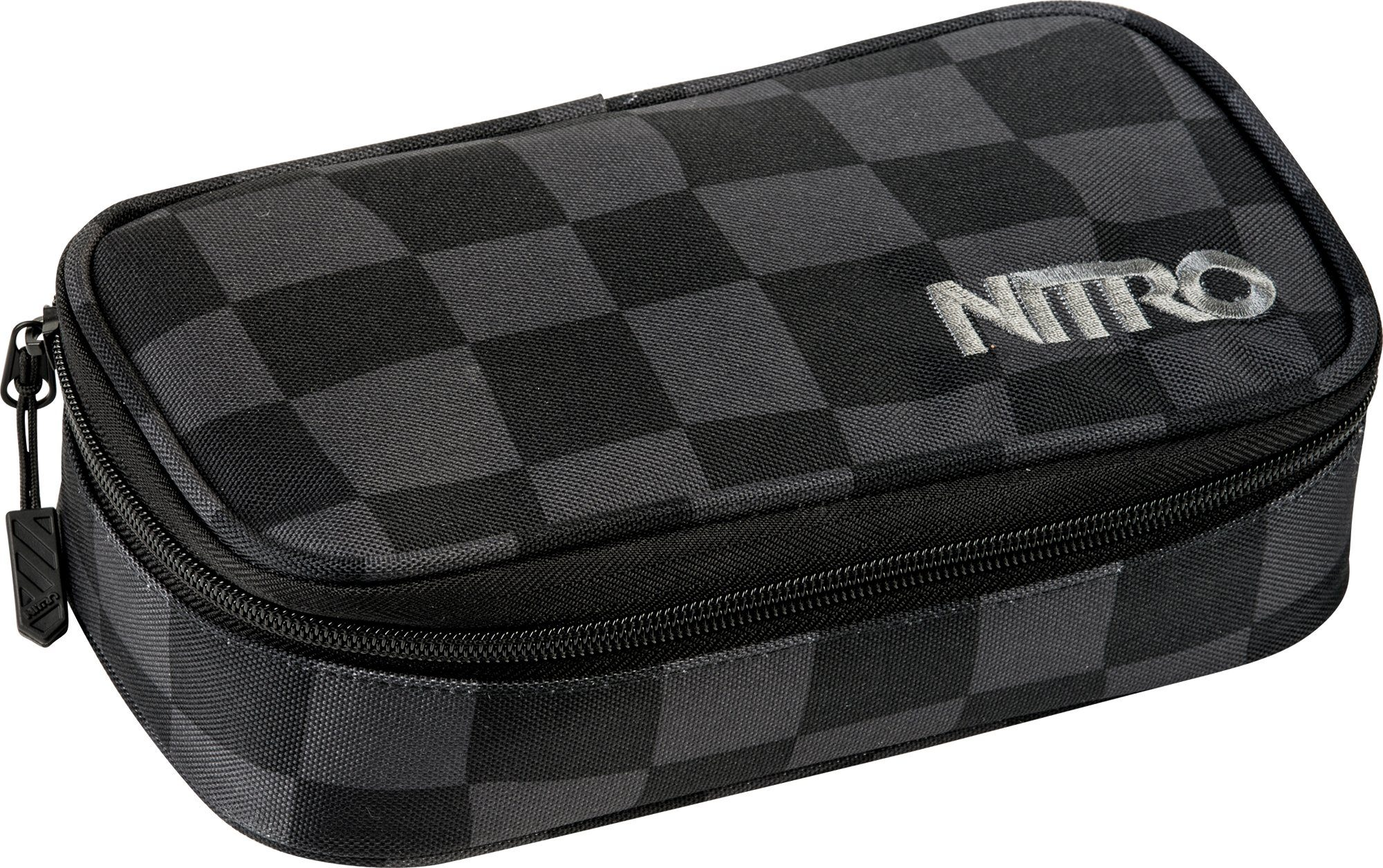 Nitro Federmäppchen, »Pencil Case XL Black Checker«
