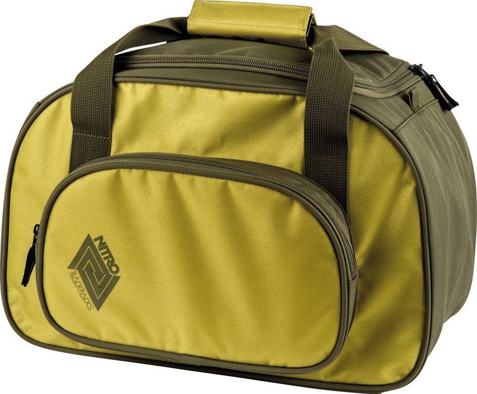 Nitro Reisetasche , »Duffle Bag XS Golden Mud« in olive