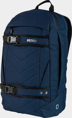 Nitro Schulrucksack, mit Laptopfach, »Aerial Indigo«