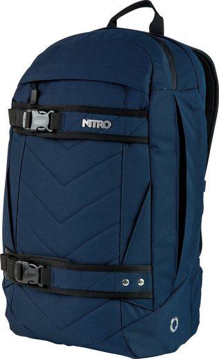 NITRO Laptoprucksack »Aerial Indigo«