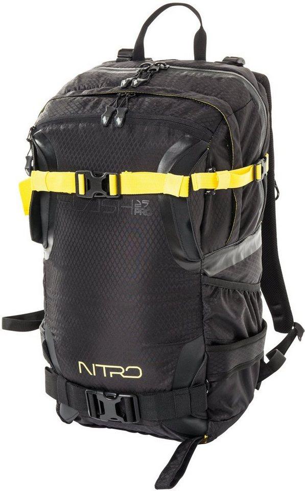 Nitro Rucksack, »Slash 25 Pro Almost Black« in schwarz