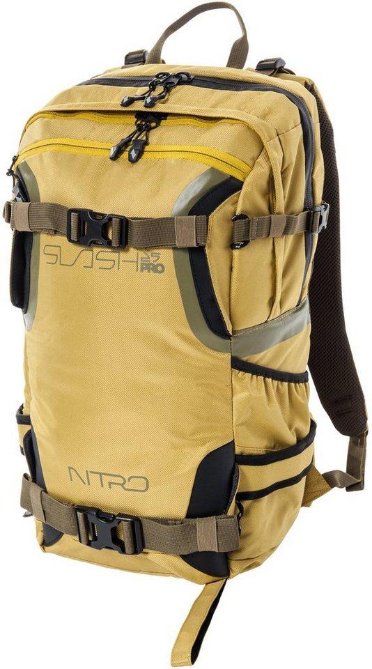 Nitro Rucksack, »Slash 25 Pro Golden Mud« in beige