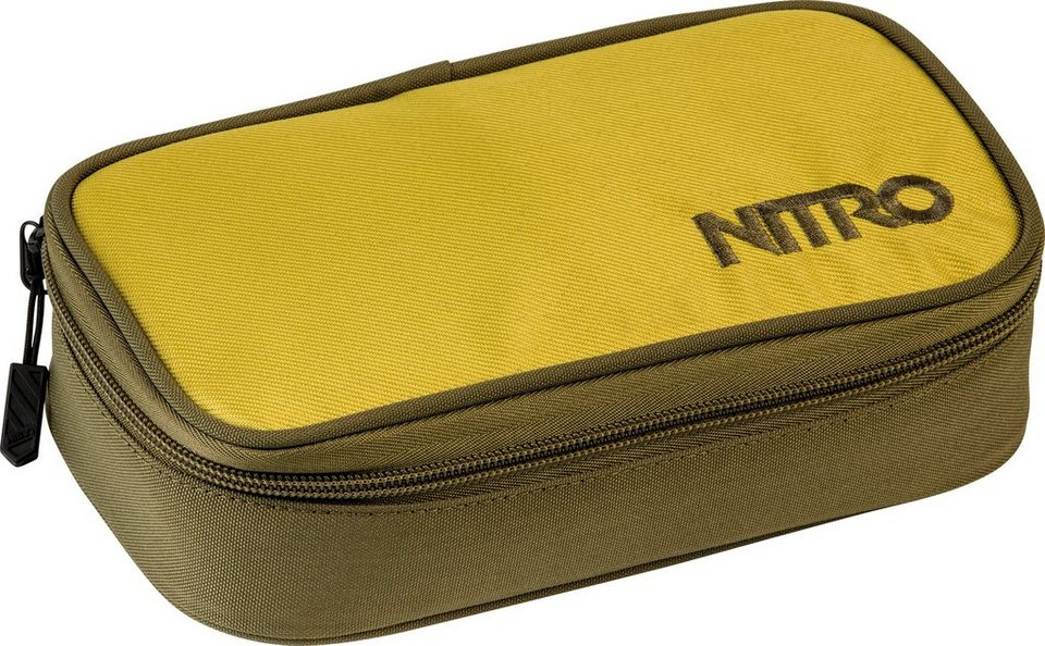 Nitro Federmäppchen, »Pencil Case XL Golden Mud« in olive