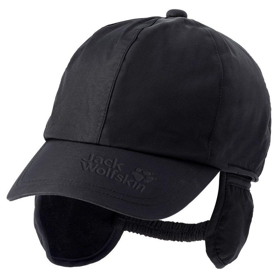 Jack Wolfskin Schirmmütze »TEXAPORE HORN CAP« in black