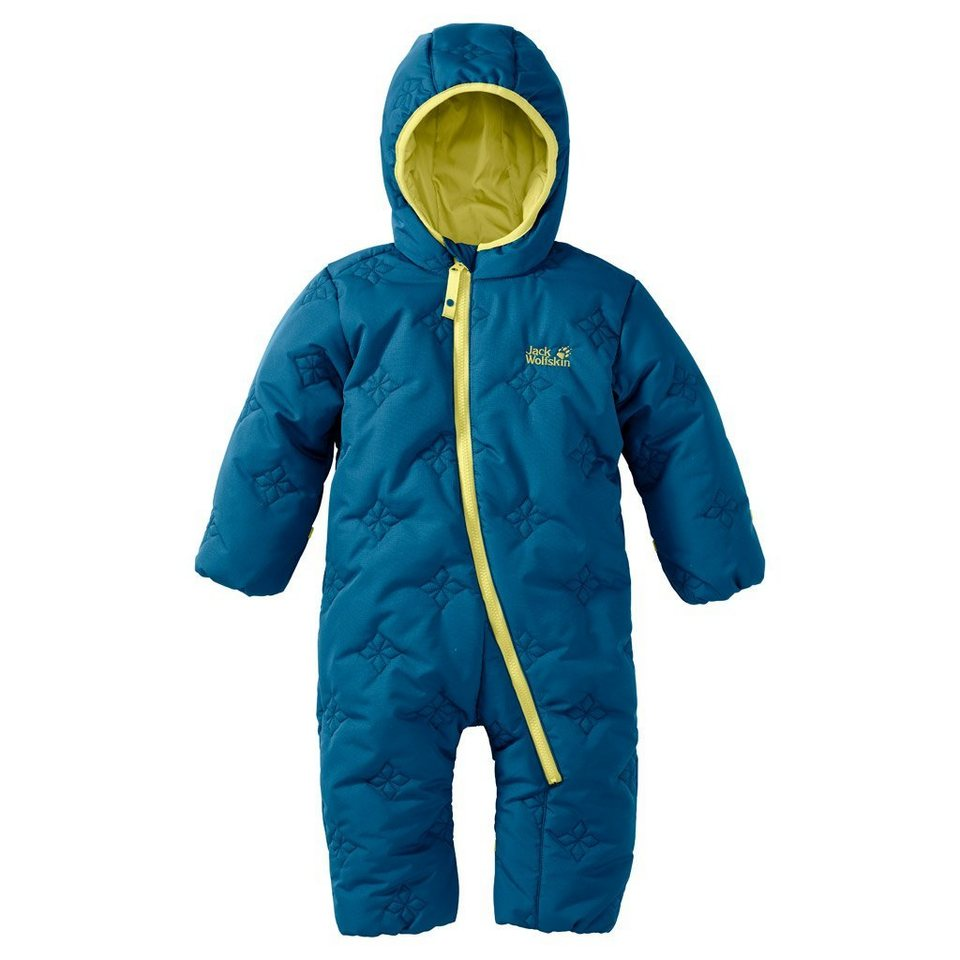 Jack Wolfskin Overall »ICE CRYSTAL OVERALL KIDS« in glacier blue