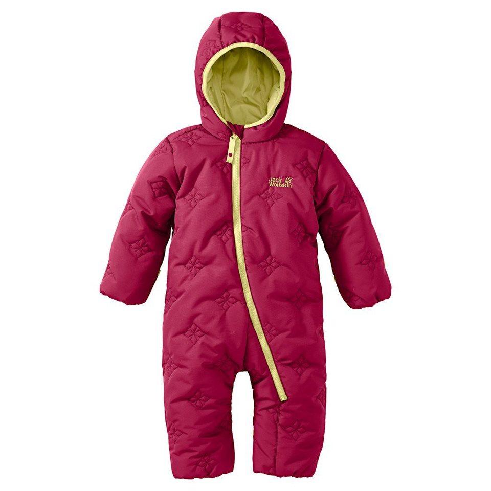 Jack Wolfskin Overall »ICE CRYSTAL OVERALL KIDS« in azalea red