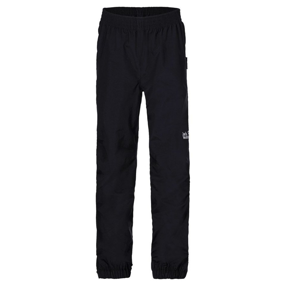 Jack Wolfskin Regenhose »RAIN PANTS KIDS« in black