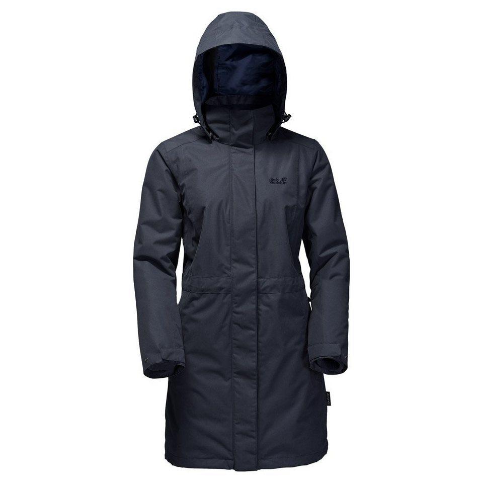 Jack Wolfskin Outdoormantel »OTTAWA COAT« 2 teilig in night blue