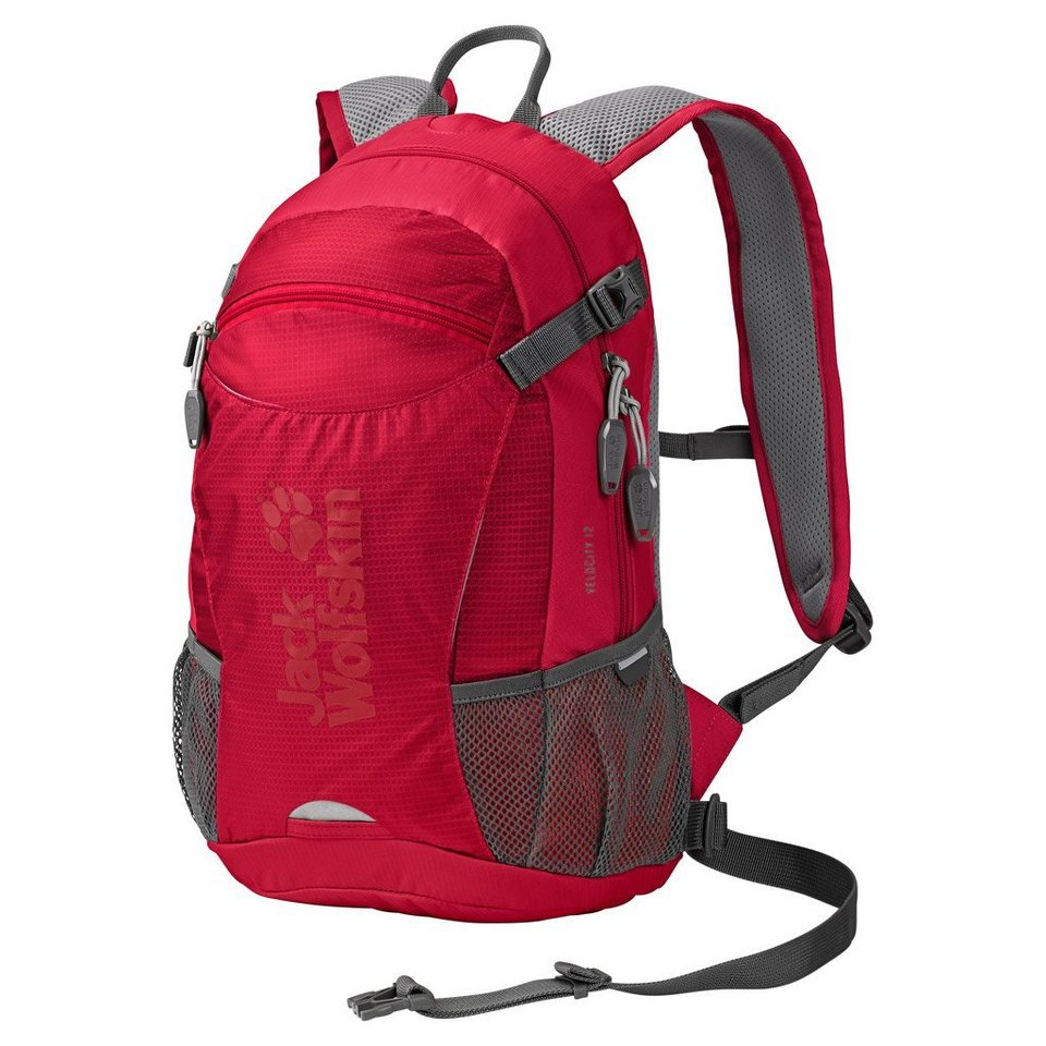 Jack Wolfskin Bikerucksack »VELOCITY 12« in racing red