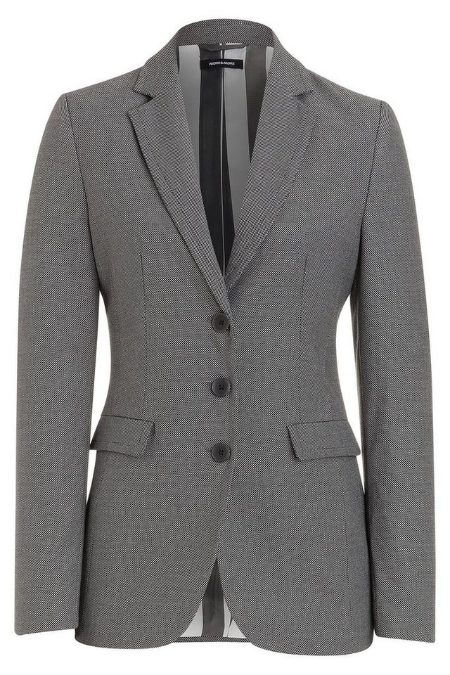 MORE&MORE Blazer, Ministruktur in wie Farbmuster