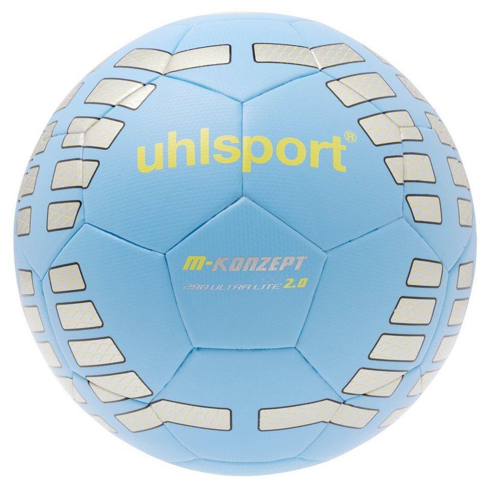 UHLSPORT M-Konzept 290 Ultra Lite 2.0 Fußball in blau/silber/gelb