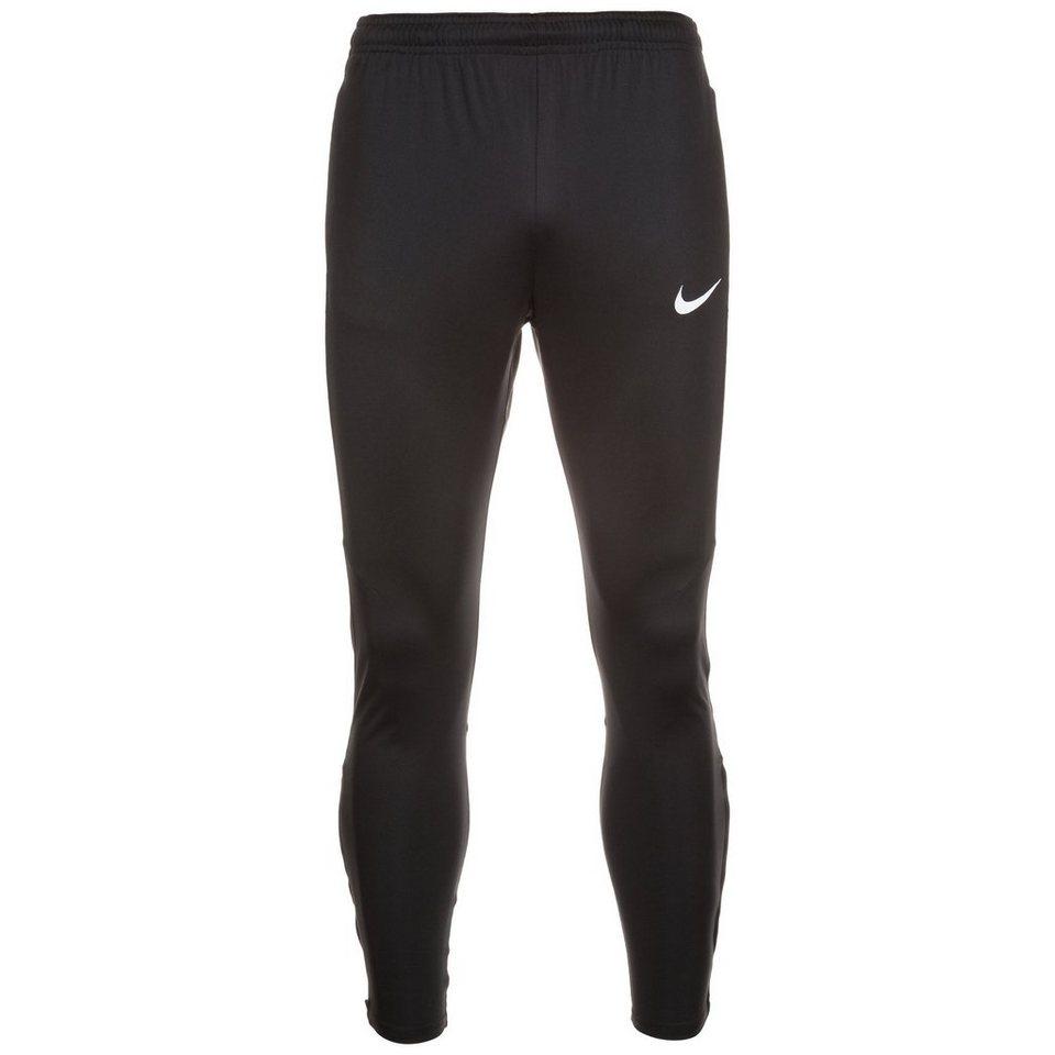 NIKE Dry Squad Trainingshose Herren in schwarz / weiß